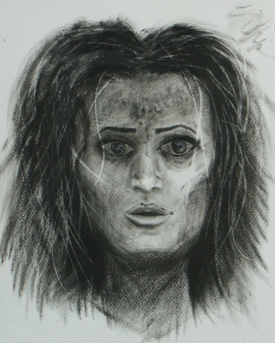 Face Sketch #4 by JStix