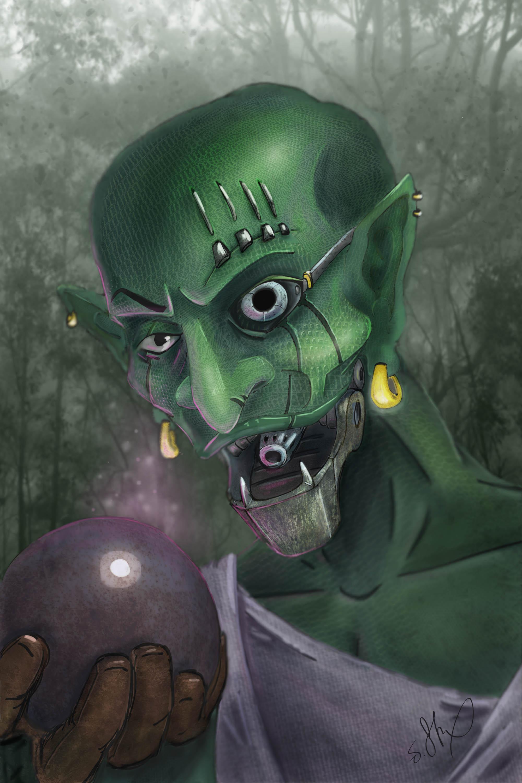 Goblin Character Design by J.Stix