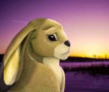 Rabbit design by JStix