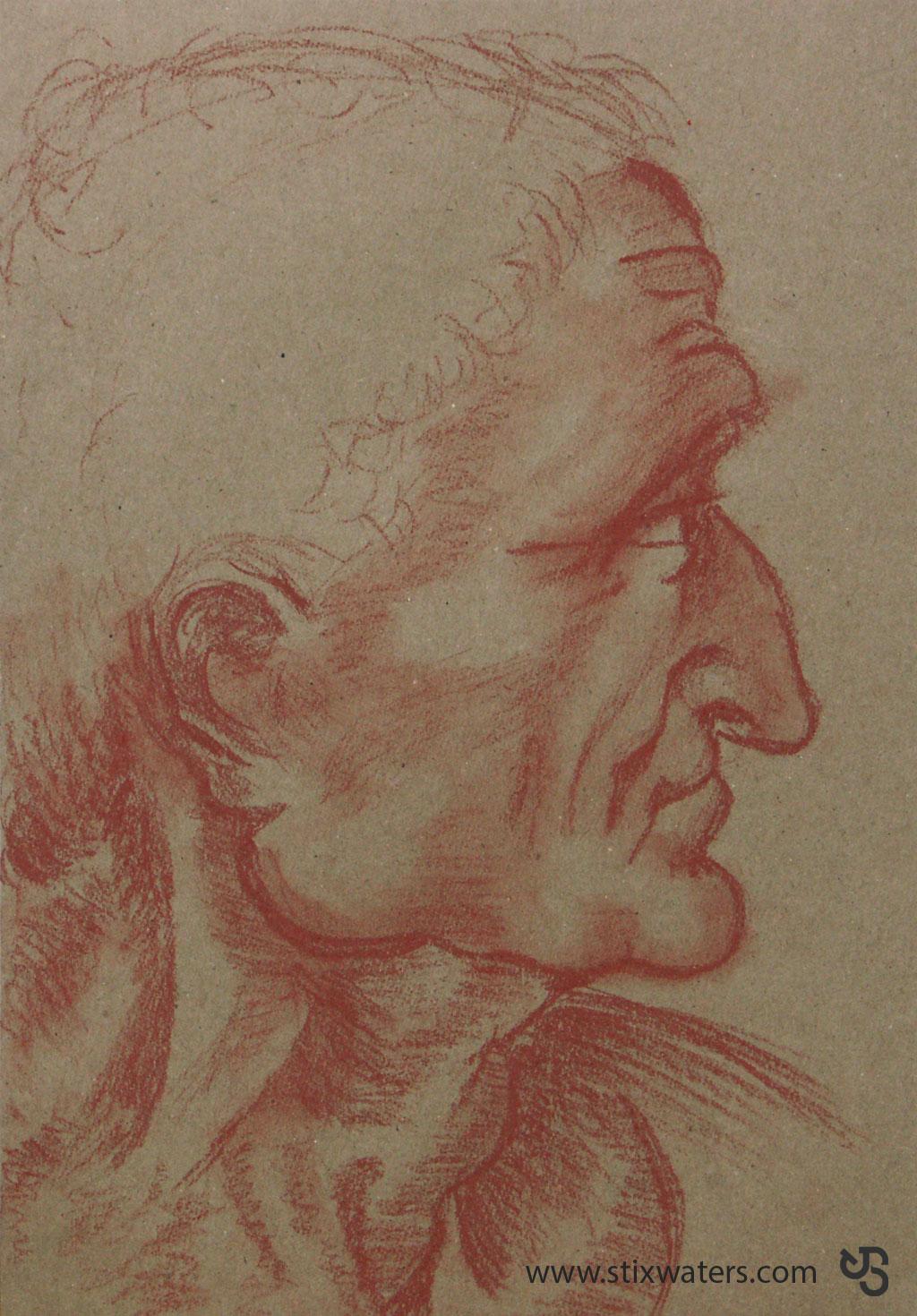 sketch_head by JStix