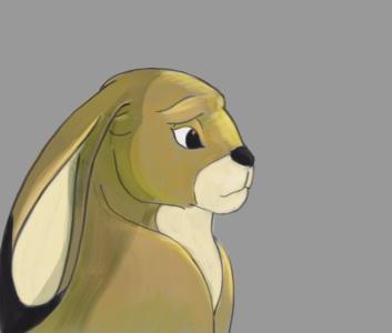 rabbit sketch by JStix