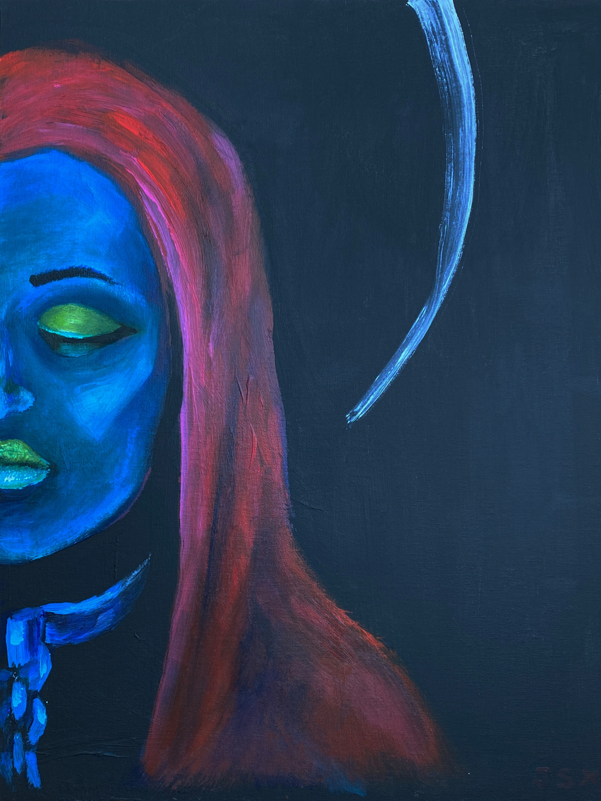 Face_4 artwork by J.Stix