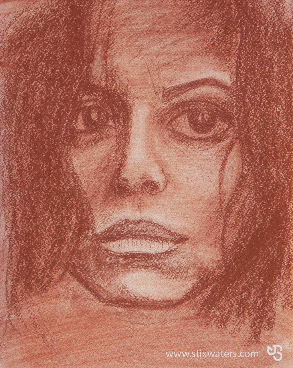 Face Sketch #3 by JStix