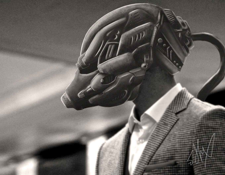 Helmet Concept by JStix